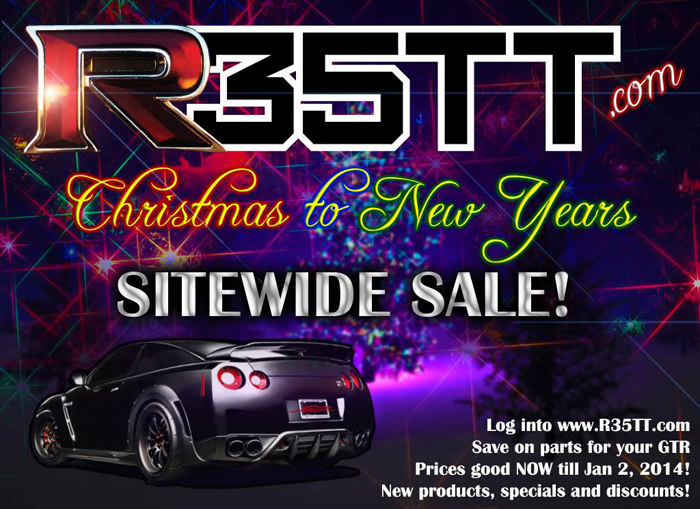Hurry and call or email for pricing! Doesn't have to be GT-R related but just to get an idea of what we can get, visit our GT-R site… www.R35TT.com or email for pricing.  Email: david@sp-power.com Phone: 626-333-5398  Happy holidays!