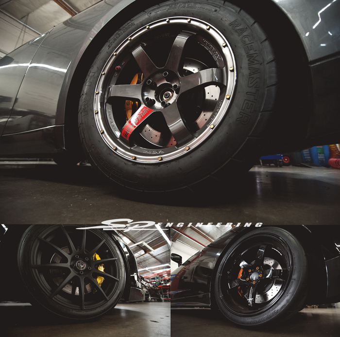Happy Wheel Wednesday, folks! Please call (626-333-5398) or email David (david@sp-power.com) for any of your Volk/Advan/Forgestar inquiries.
