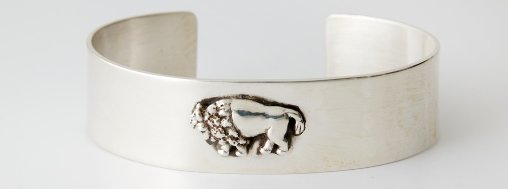 cloud ranch bison cuff