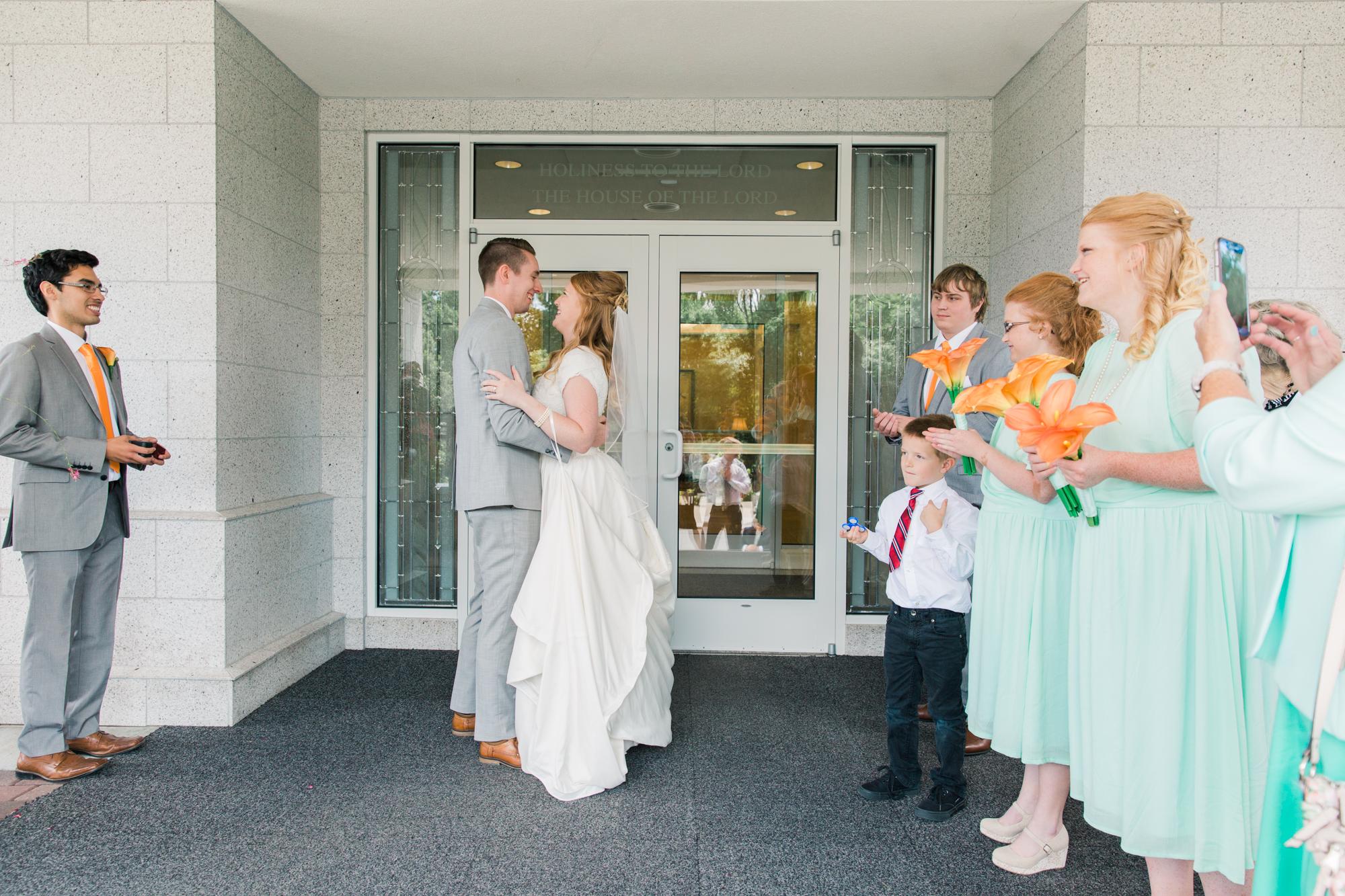 Minnesota Wedding Photographer| Sierra & Jacob | LDS Photographer | Fine Art | Ceremony |Eden & Me Photography