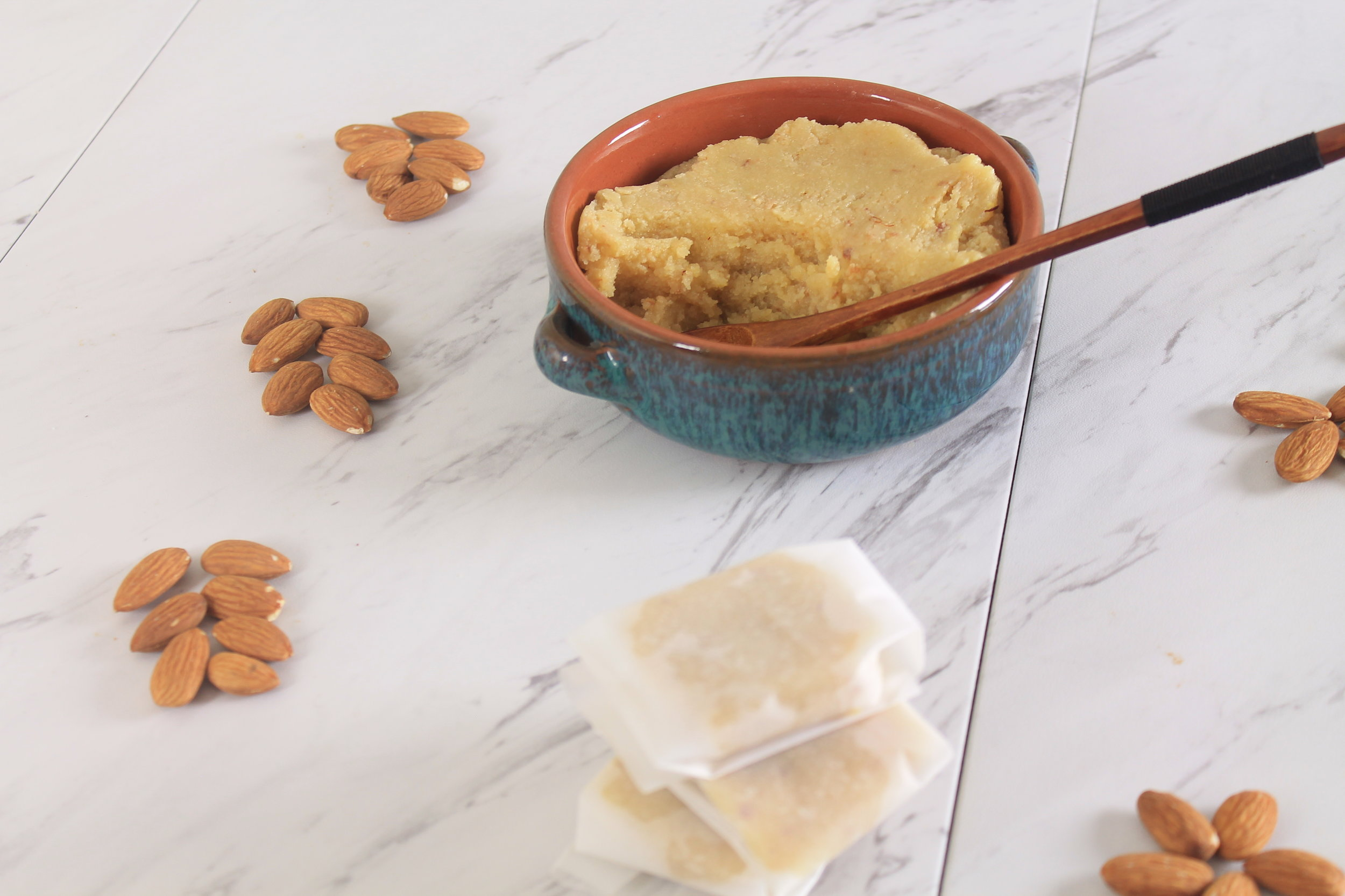 Badam Halwa with almond meal