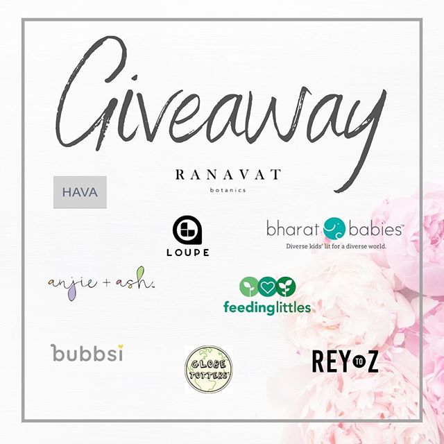 *GIVEAWAY* We are teaming up with incredible female founded brands to bring you some amazing goodies!  Swipe to see more! @ranavat Jasmine tonique and Illuminate Tea @Feedinglittles online course  @havaworld $100 Store credit @anjieandash $75 store credit @Lovebubbsi moisture duo @Bharatbabies $25 store credit @Loupealbums one year subscription @ReytoZ $25 store credit @globetotters $25 store credit  To enter:  1. FOLLOW all of the brands listed above 2. LIKE this post 3. TAG a friend in the comments below *BONUS* 2 extra entries for sharing in your stories- be sure to tag us!  The giveaway is open only to USA Residents and is open through Thursday August 1, 2019 11:59 pm. The winner will be announced shortly after  This giveaway is in no way sponsored, administered or associated with Instagram. By entering, entrants confirm they are 16+ years of age, release Instagram of responsibility, and agree to Instagram's terms of use.