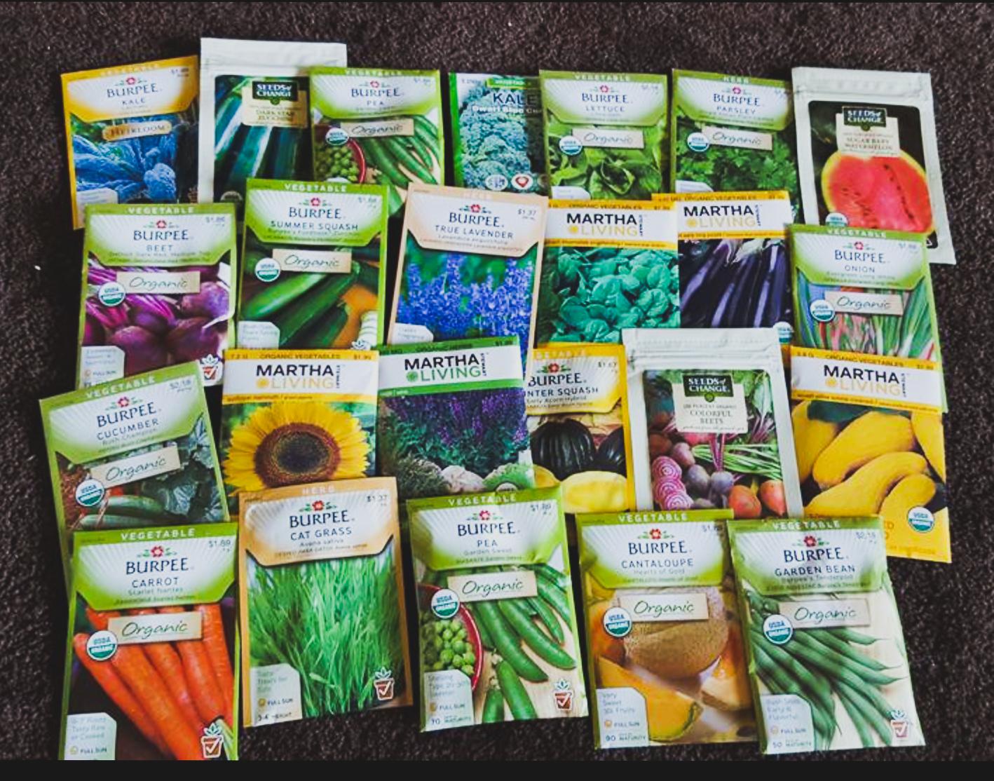Melissa is a prolific gardener!