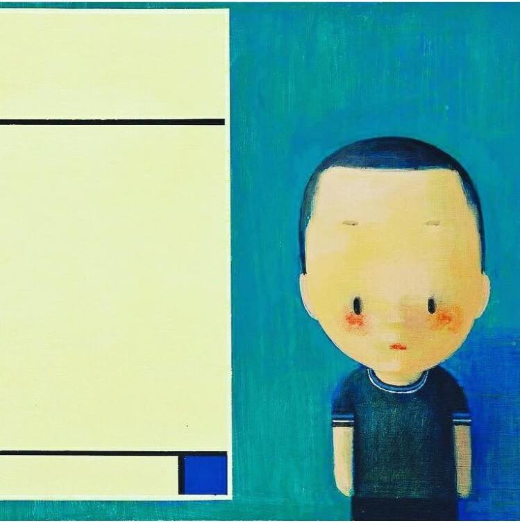 Boy and Mondriaan, by Liu Ye