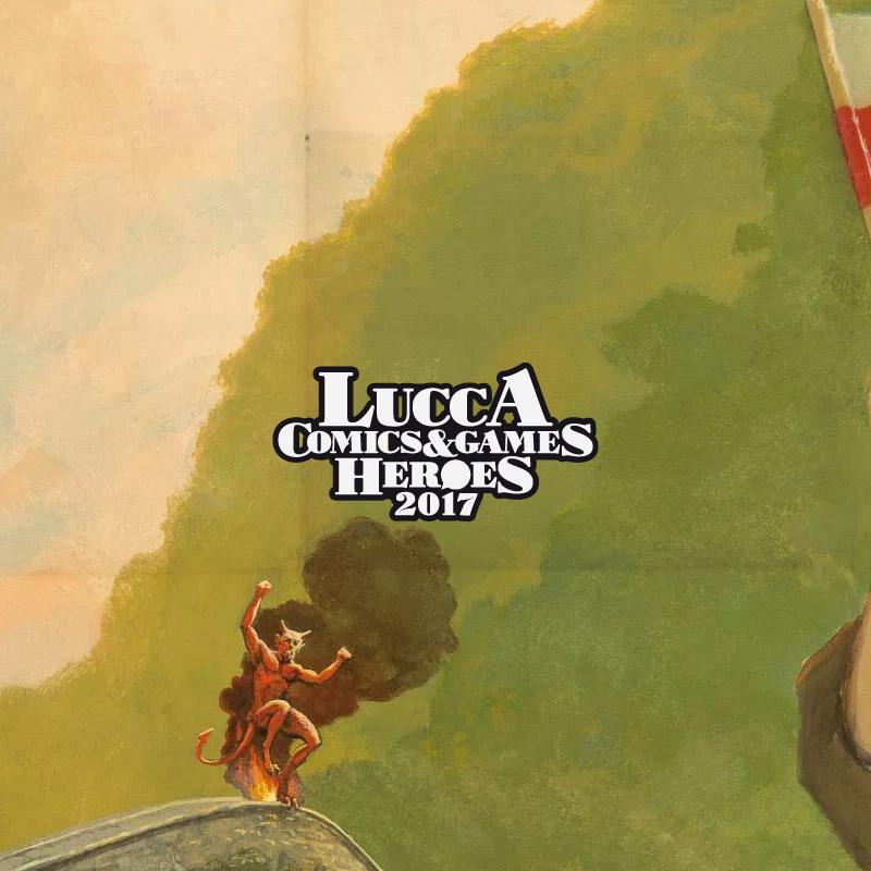 Un dettaglio del poster di questa edizione di LC&G, di Michael Whelan.