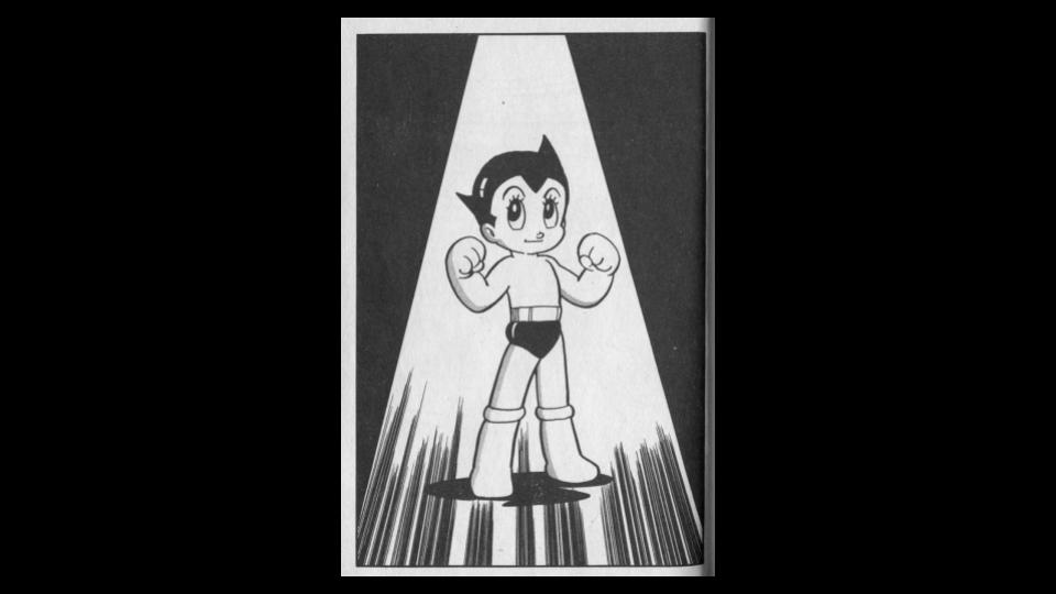 """""""Tetsuwan Atom"""" di Osamu Tezuka."""