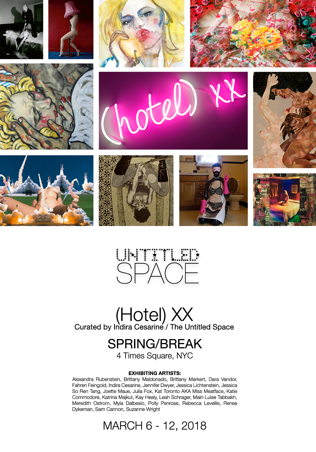 (HOTEL) XX - Exhibit - SpringBreak Art Show - Curated by indira Cesarine of The Untitled Space.jpg