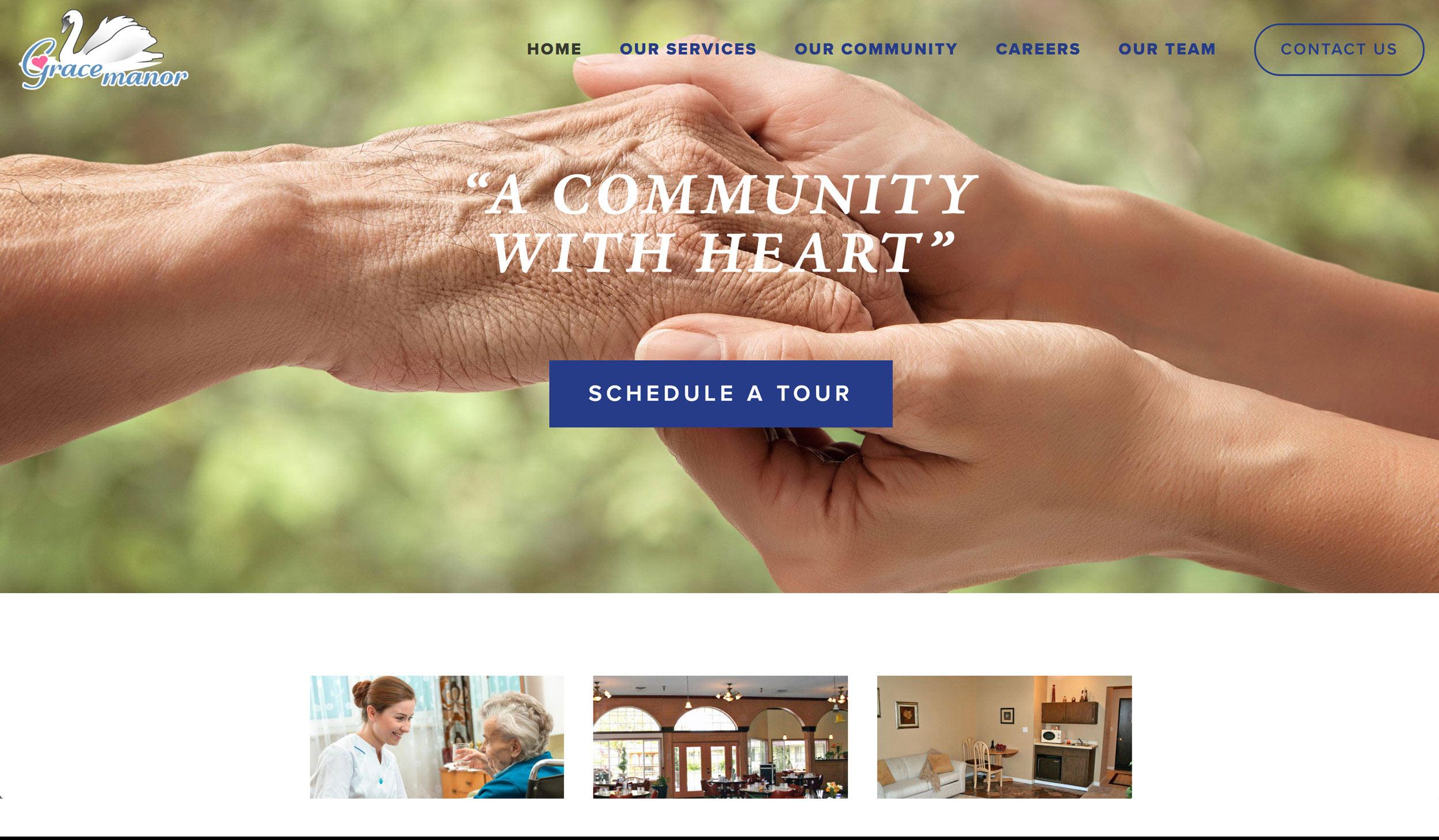 Grace Manor Homepage