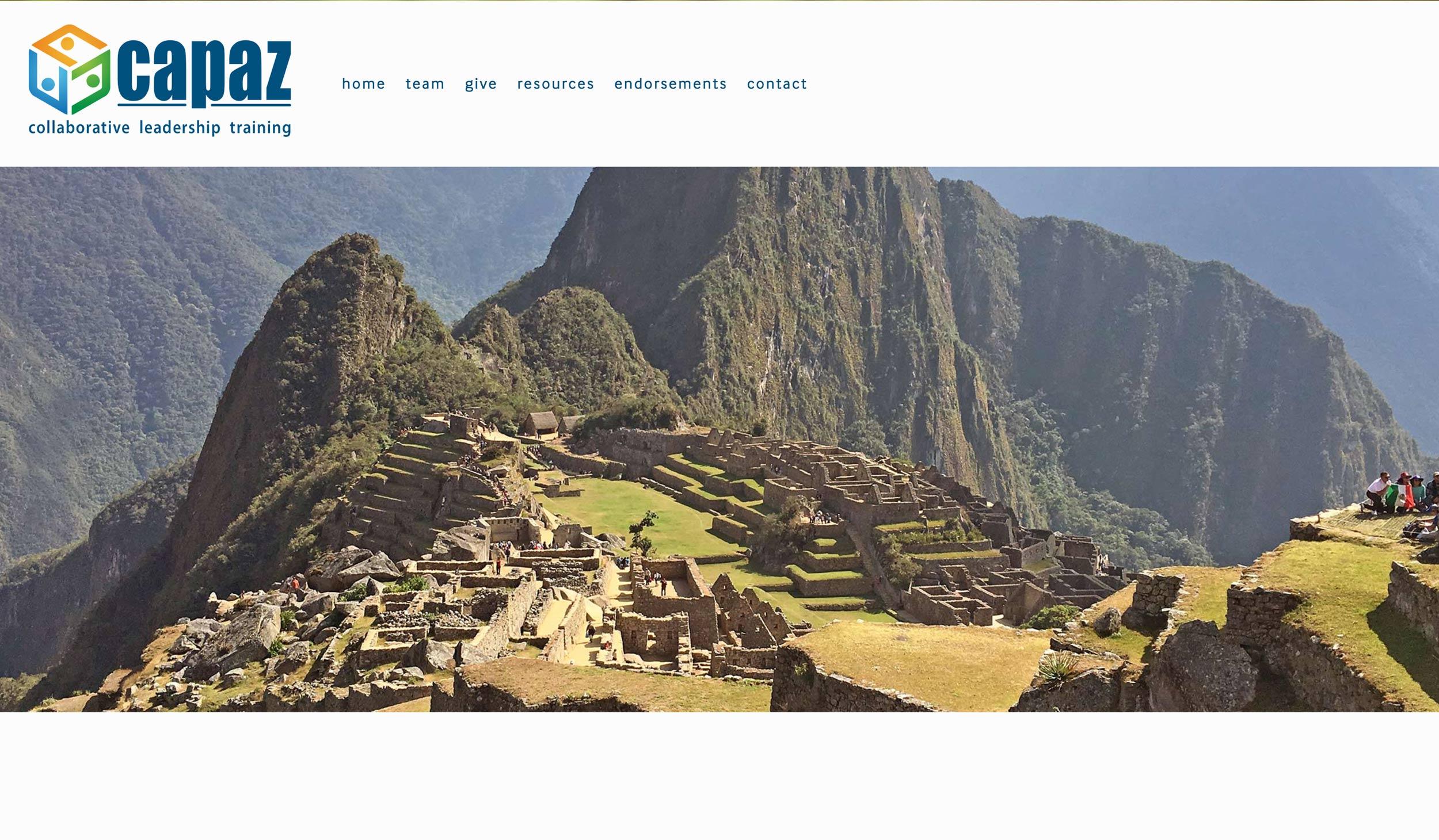 Capaz Homepage
