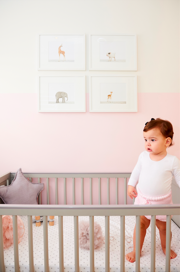 Alexa Gigi in her nursery. Photography Sue Ferris.