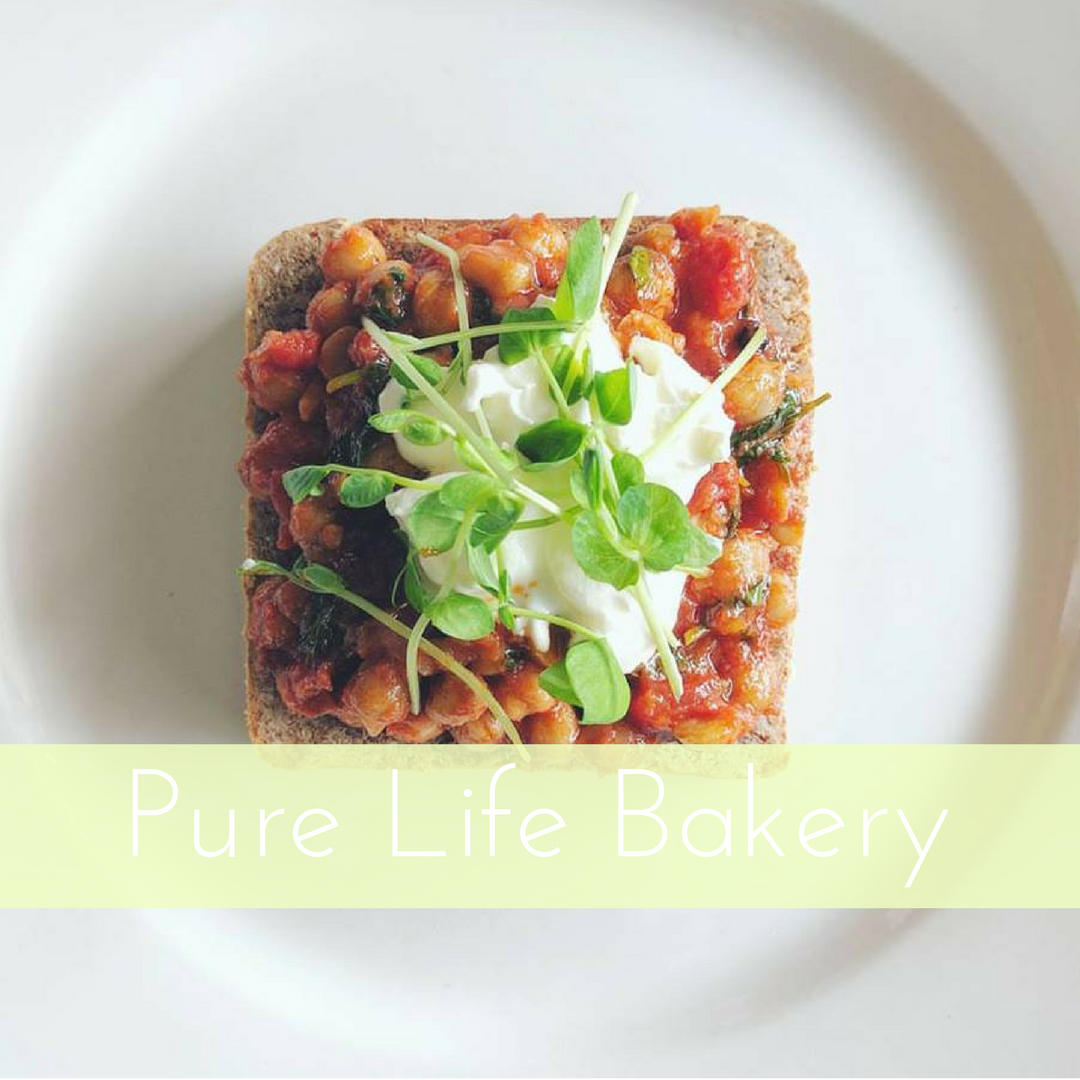 Sprouted wheat loaf - Pure Life Bakery