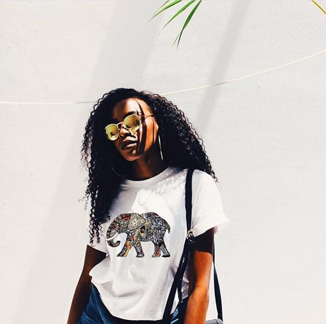 Thinking about getting this shirt? Shop LET ME LIVE 🌍👉🏼 www.bekindtotheelephants.com 🐘 #bekindtotheelephants