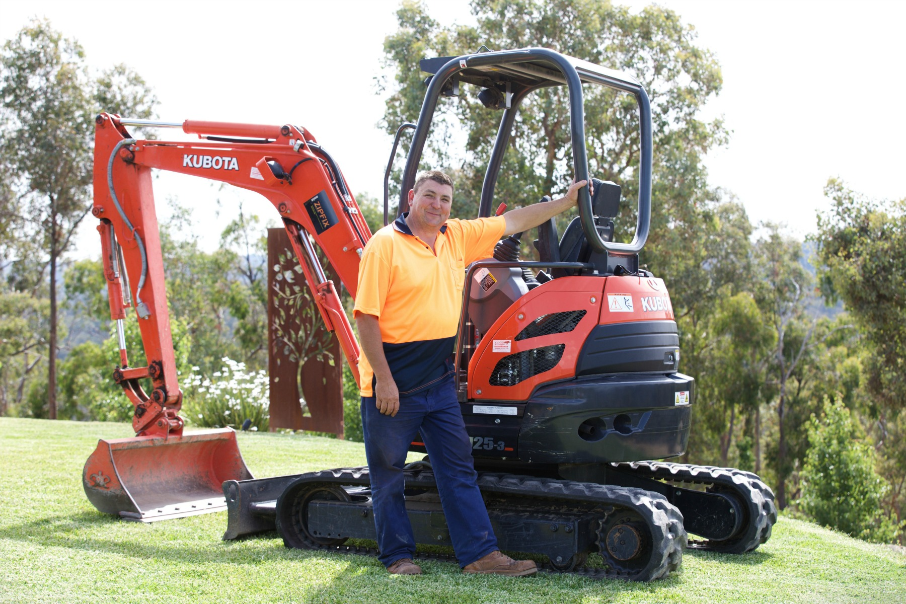 Dane and the ditch witch