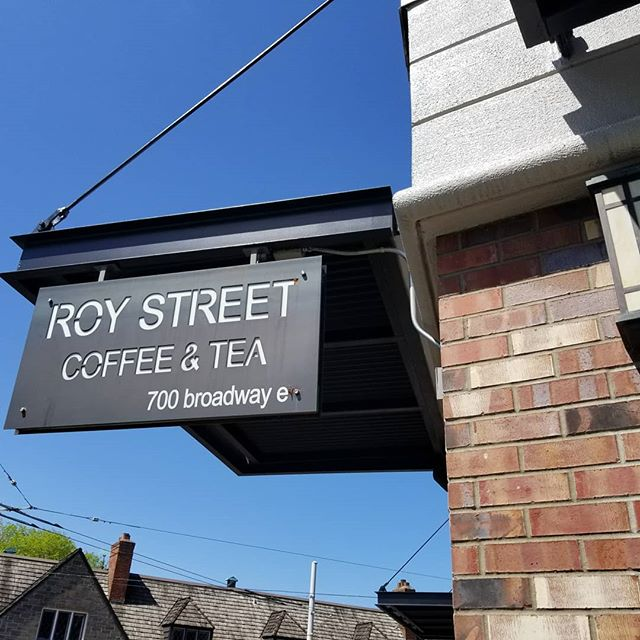 So hard to say goodbye to @roystreetcoffee today. 10 years and now they're closed. #love @tayastenson and @agenerouspour nice running into you there.