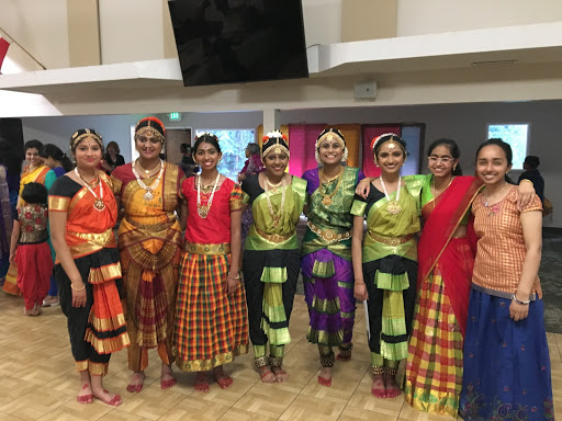 Student performers from Kalaniketan School of Indian Music Dance