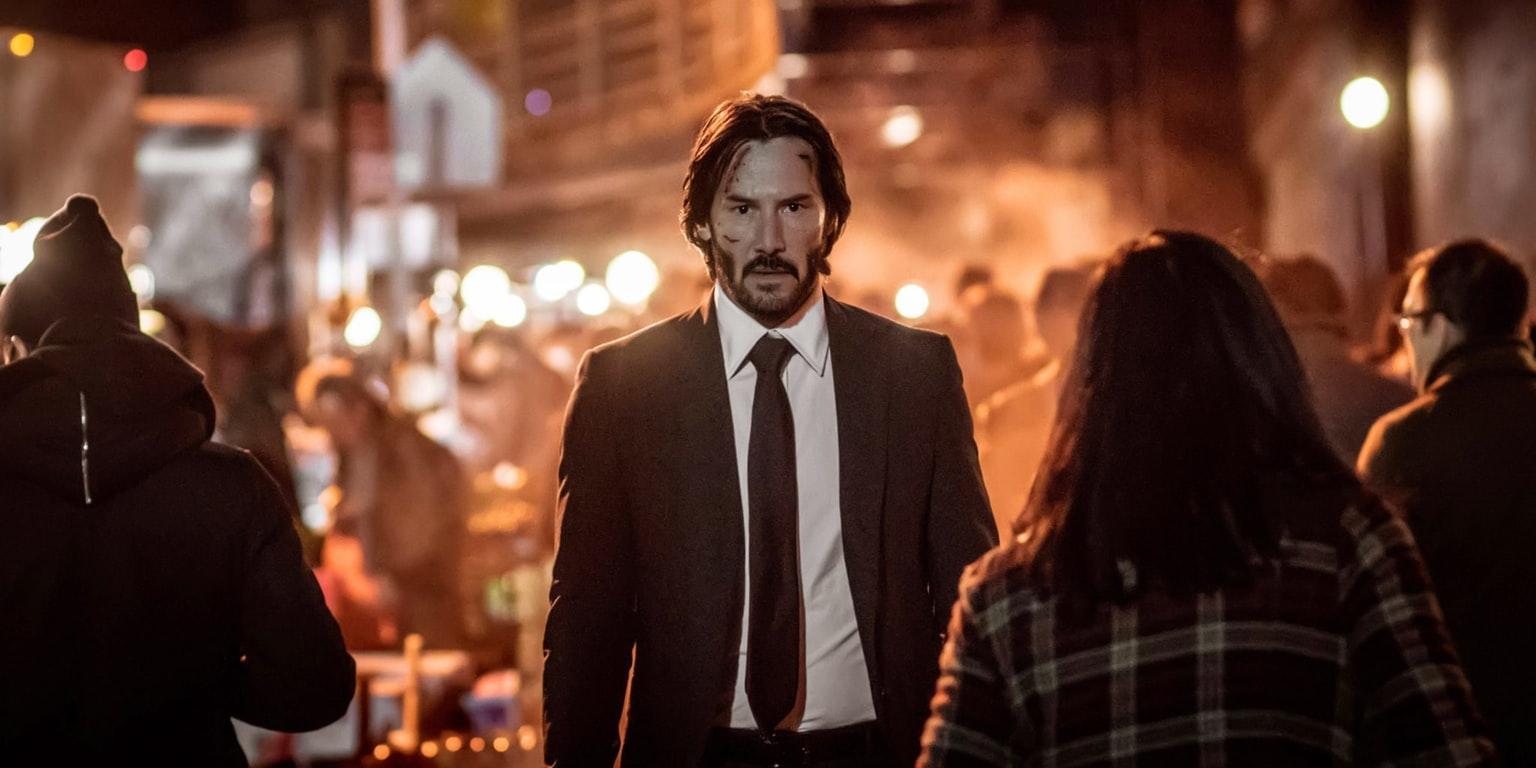 Keanu Reeves in John Wick Chapter 2