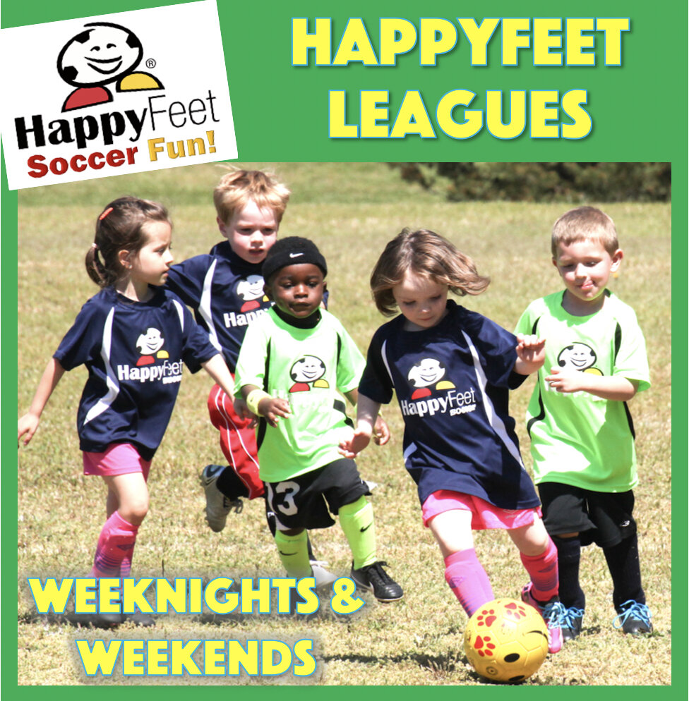 HappyFeet Year- Round Soccer Leagues