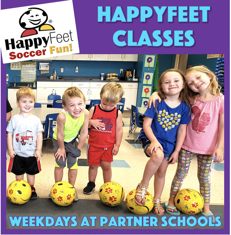HappyFeet's Storytime With a Soccer Ball Classes