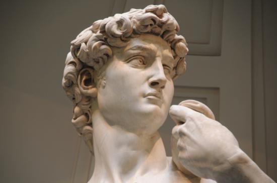 Michelangelo's David,Galleria dell'Accademia de Florence