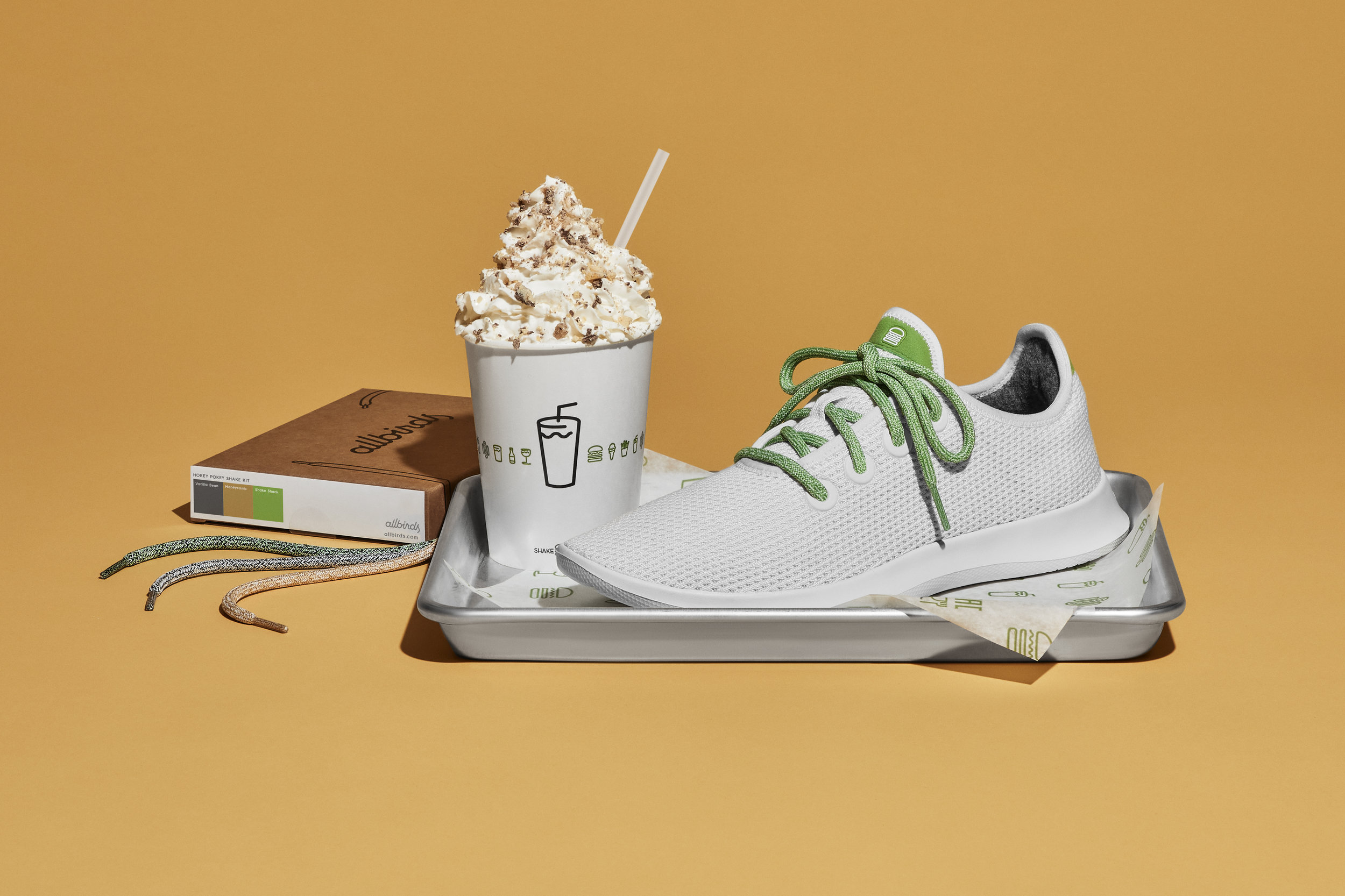 Allbirds x Shake Shack  |  Photo:  Unruh/Jones