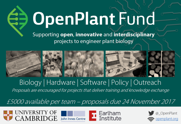 More information at: https://www.openplant.org/fund/