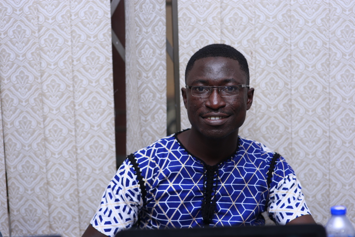 Michael Boakye Sarfo, undergraduate at KNUST in medical laboratory technology