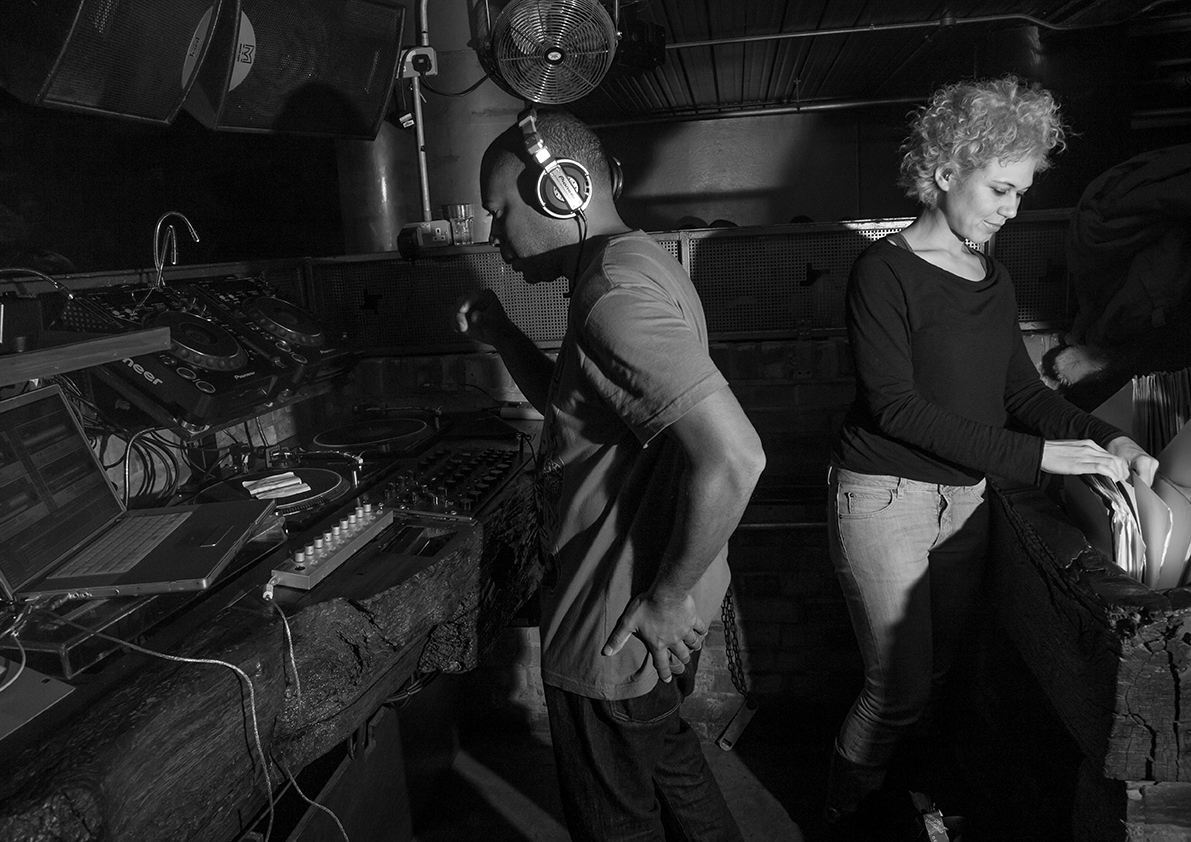 Carl Craig and Cassy, February 2009