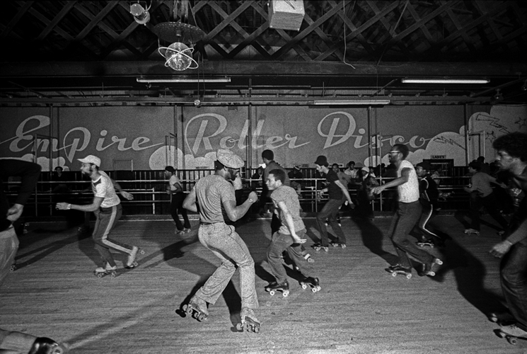 Patrick Pagnano, Empire Roller Rink, Brooklyn, NY 1982