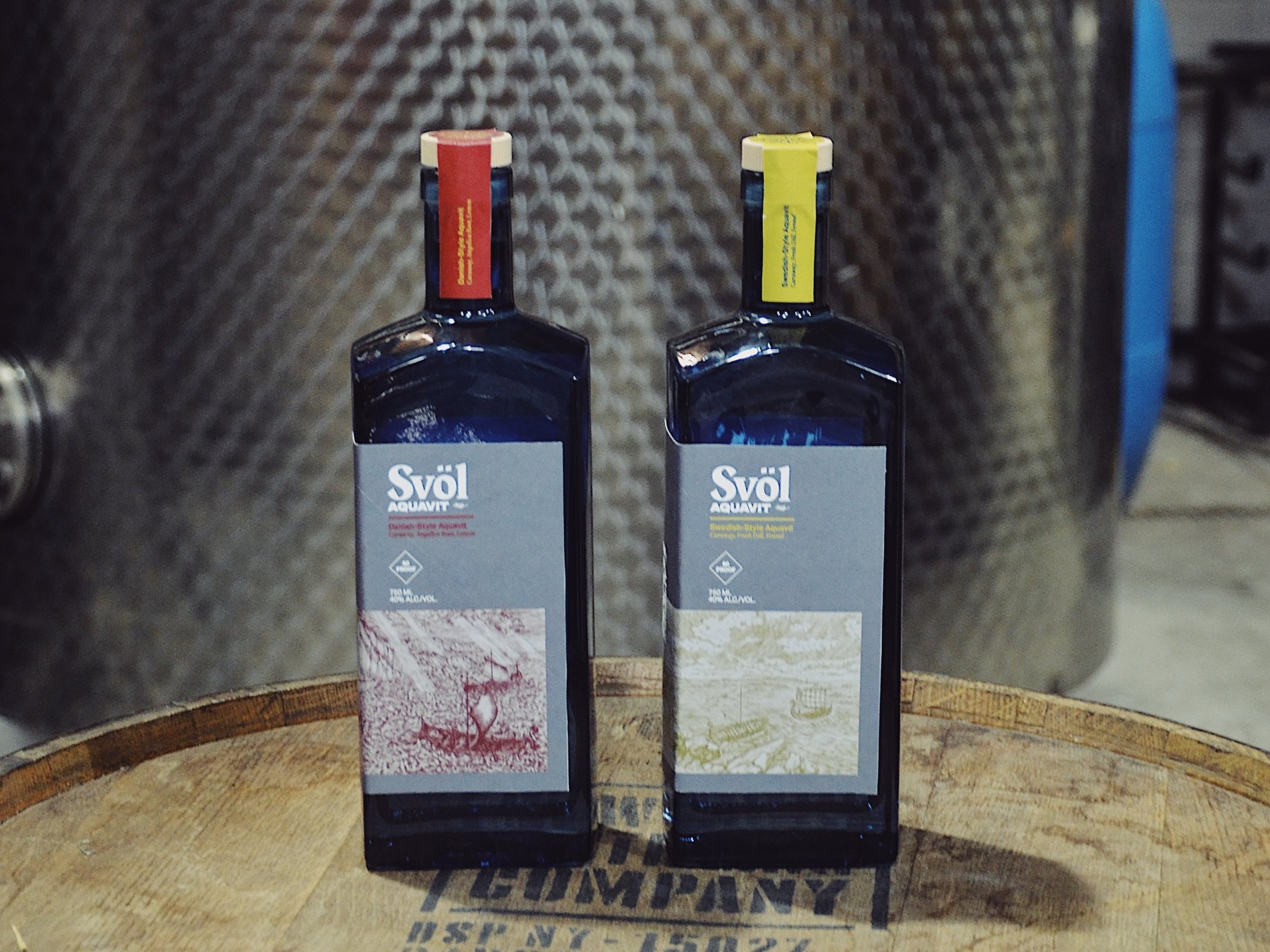 Svöl Aquavit - Taking a thoughtful gin-inspired approach to a centuries-old Scandinavian spirit.