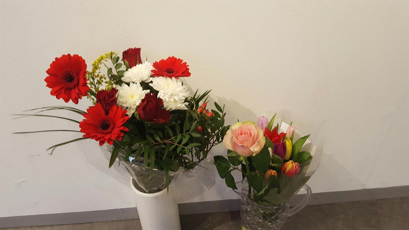 Blomster! Tackar och bockar!
