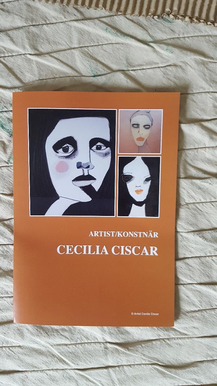 Ny folder upptryck inför kommande utställningar. Tackar Adigi Tryck och Reklam i Sundbyberg för det!