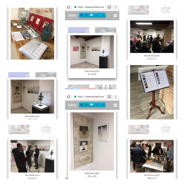 Utställning nummer två i Italien, arrangör Artnetco. Utställningen pågår 2 december 2017- 5 januari 2018.