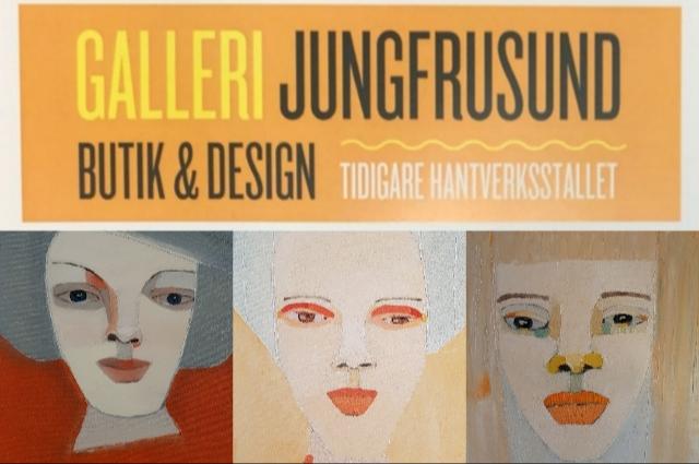 Solo-utställning på Galleri Jungfrusund på Ekerö, 5-14 oktober