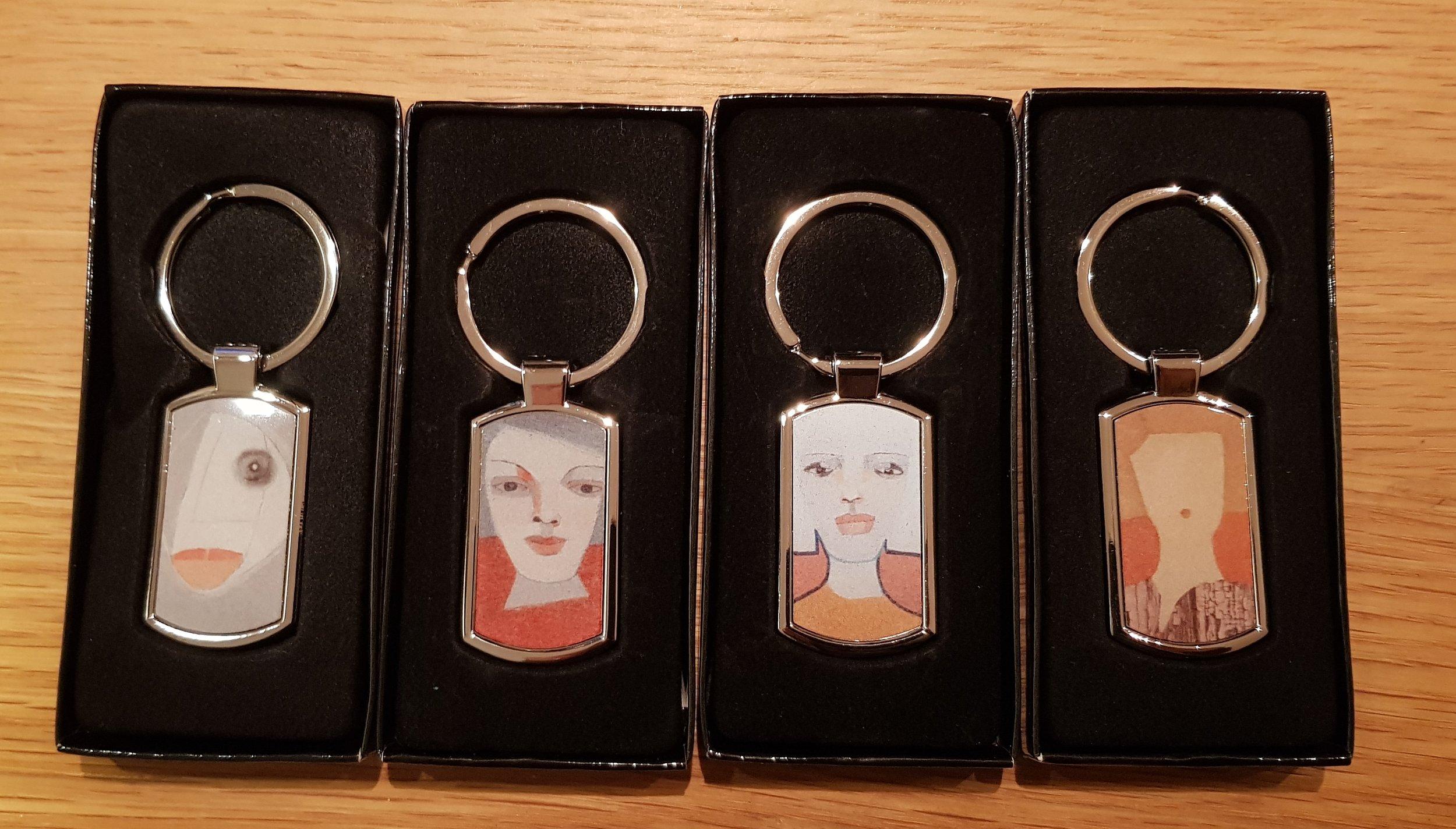 Nya nyckelringar!