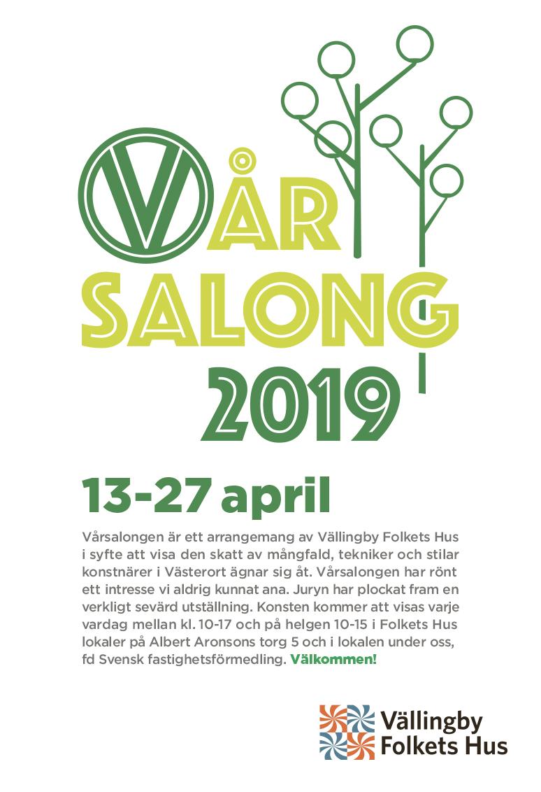 Vårsalongen i Vällingby var en upplevelse! Wow, vilken uppslutning!