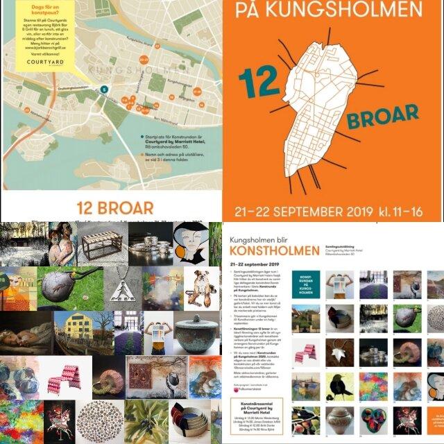 Konstrundan på Kungsholmen 2019!