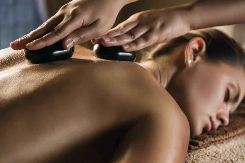 Hot Stone Massage at Peak Performance Massage Monterey