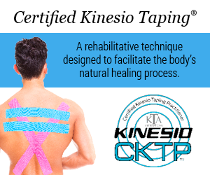 Kinesio Taping Method Certified Practitioners at Peak Performance Massage Monterey