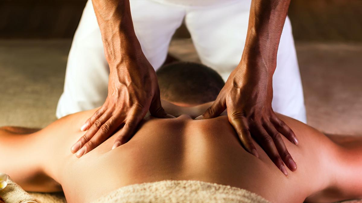 Cedric Johnson at Peak Performance Massage Monterey