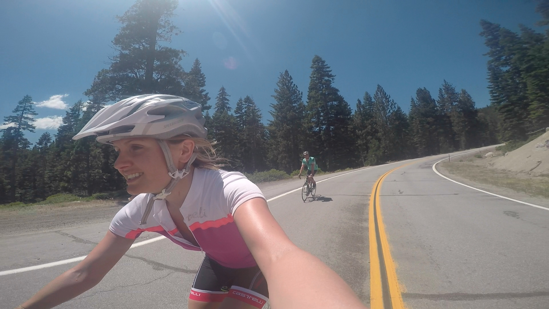 Cycling in Nevada, California