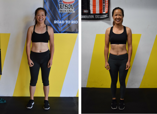 Rina shed 9.5 inches and 7 pounds in 6 weeks! 🙊 Where did it all go!?