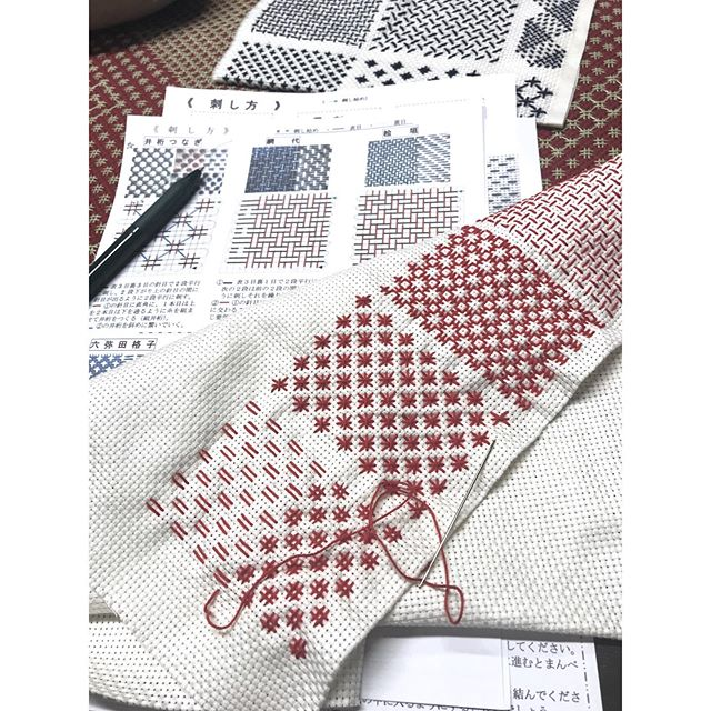 Sashiko class tomorrow at CHaT, The Mills, 4-6pm  https://www.mill6chat.org/event/sashiko-embroidery/ @fashion_clinic_official @mill6chat