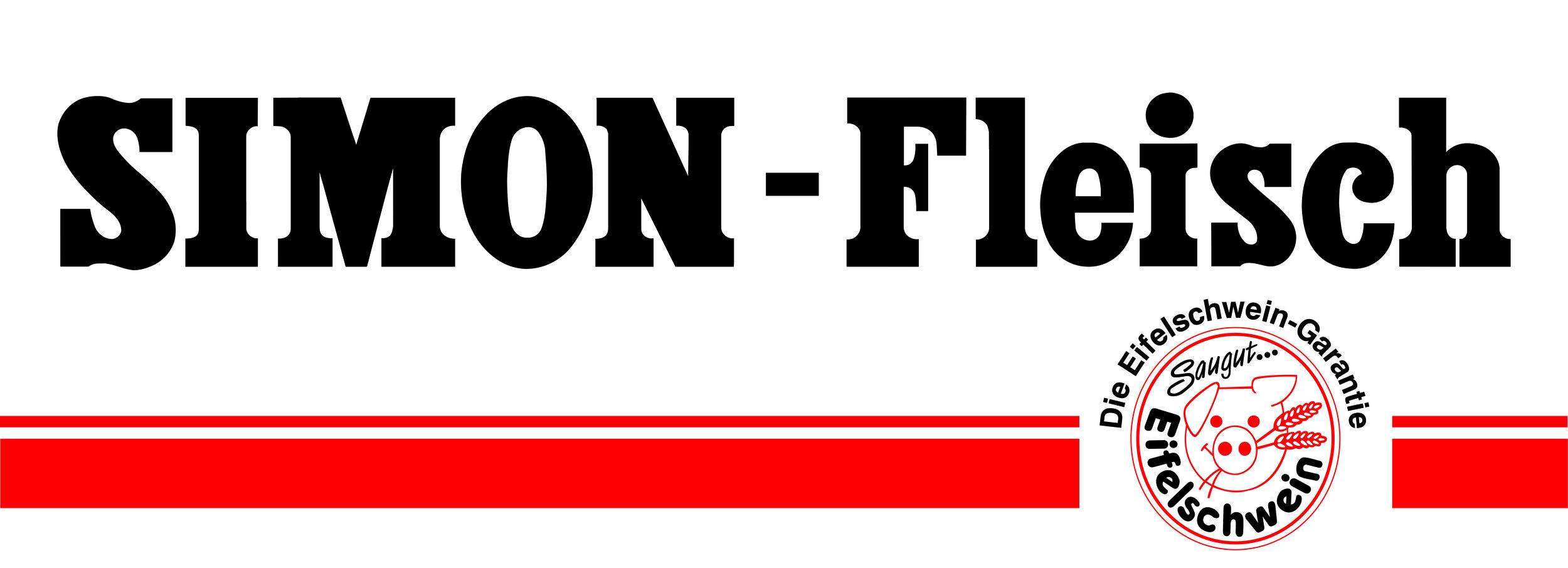 Simon-Fleisch Schriftzug m Streifen und Eifelschwein-Logo.jpg