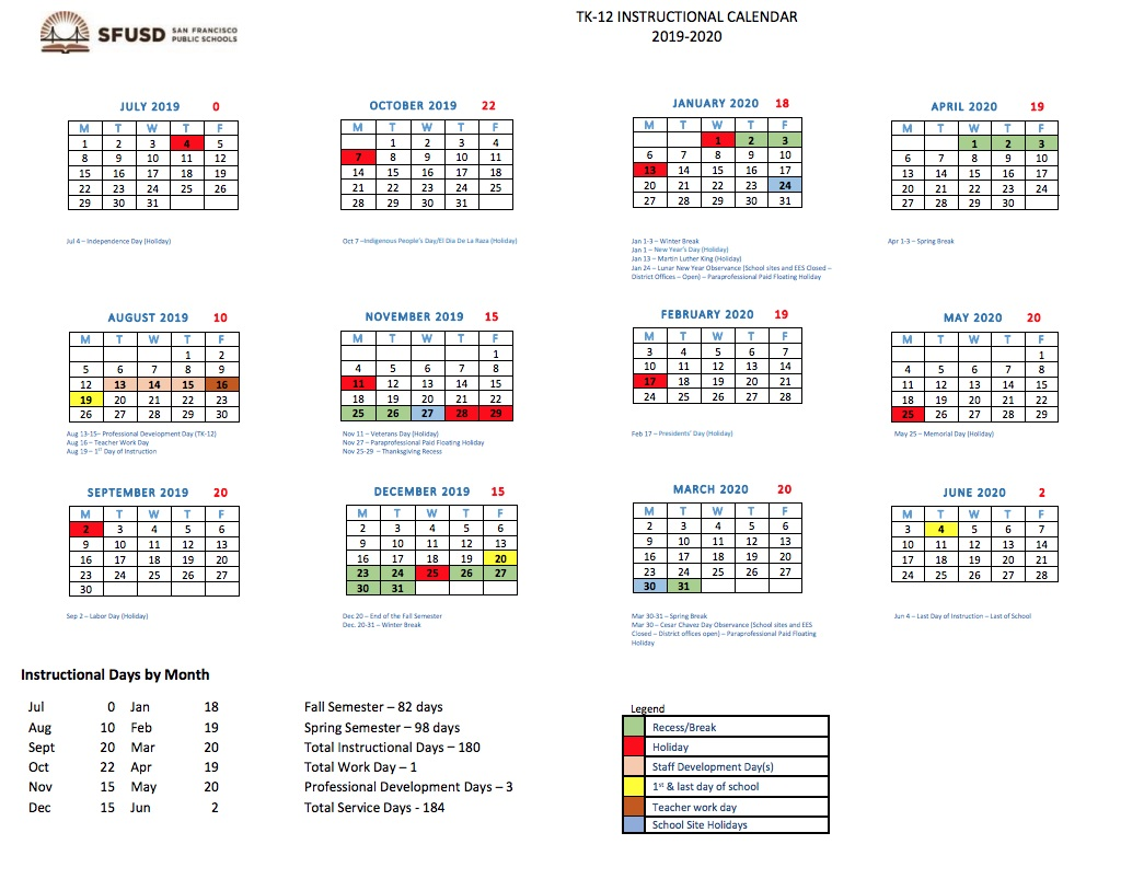 Sfusd 2021 Calendar Upcoming Board of Education Meetings — PPSSF