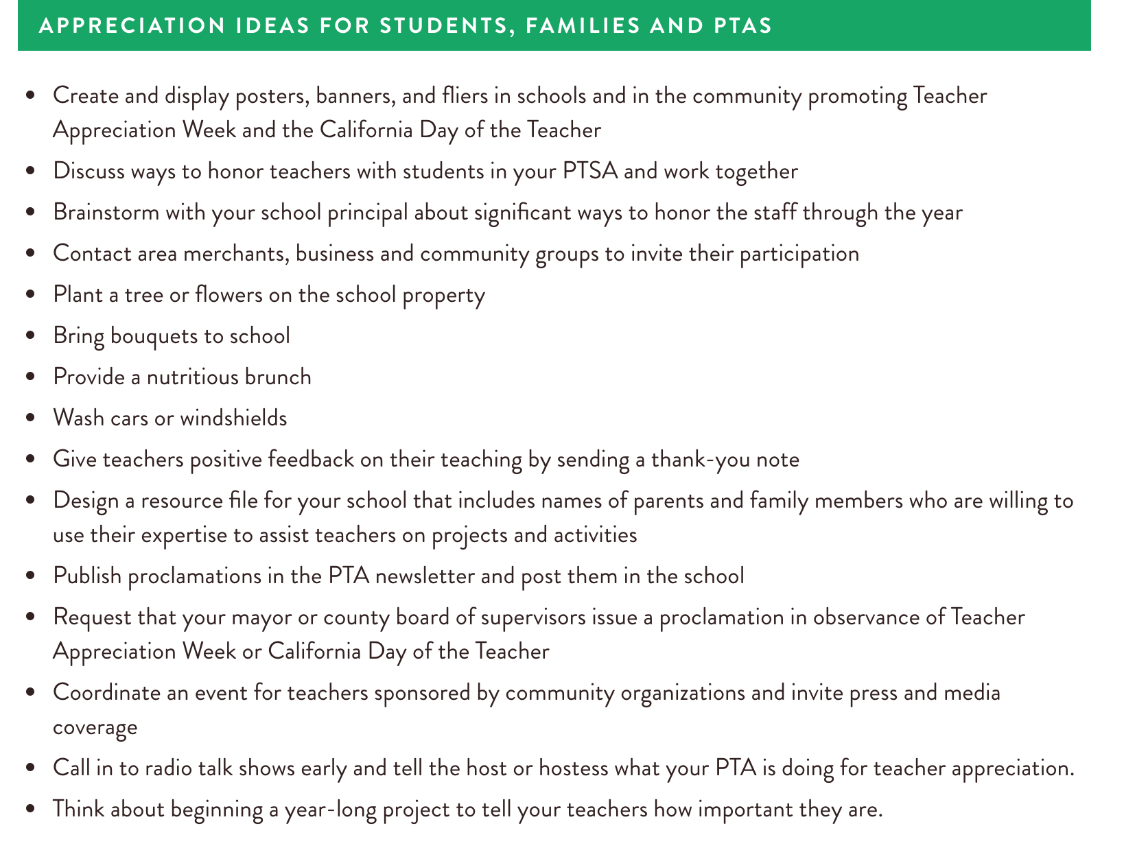 Source: California PTA,  https://capta.org/programs-events/teacher-appreciation-week/