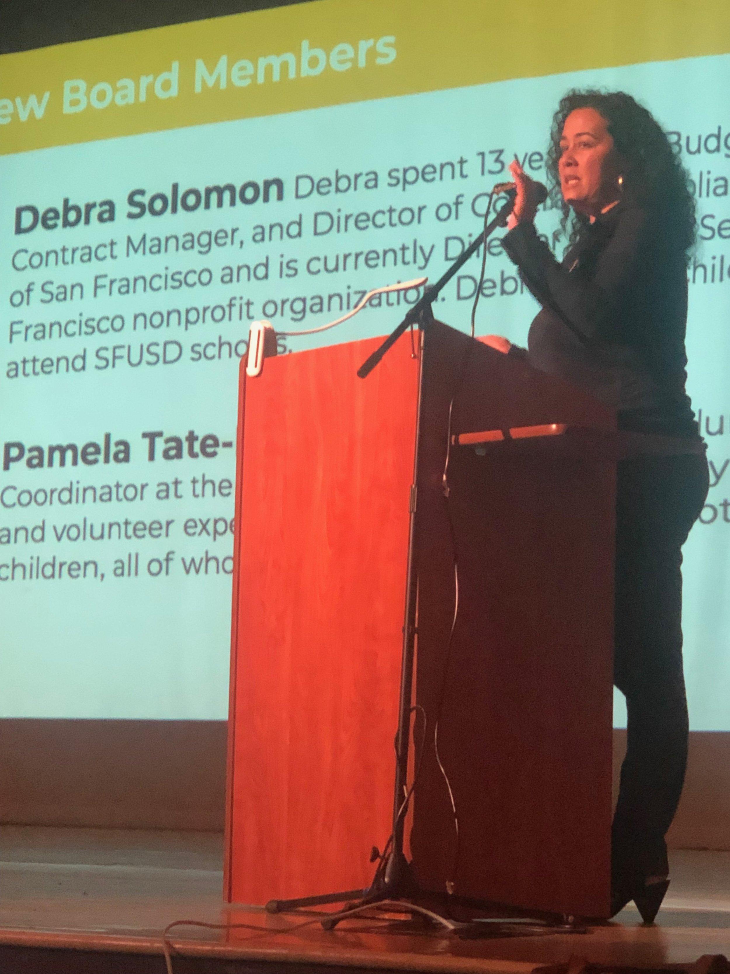 Teresa Arriaga, Directora Ejecutiva de PPS-SF