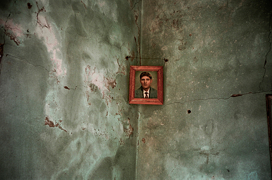 Photograph of a grandfather…all that remained after bombing. Lebanon, 2006