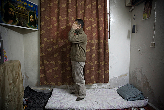 An undocumented and desperate Iraqi refugee faces financial hardship and possible deportation. Damascus, Syria, 2008