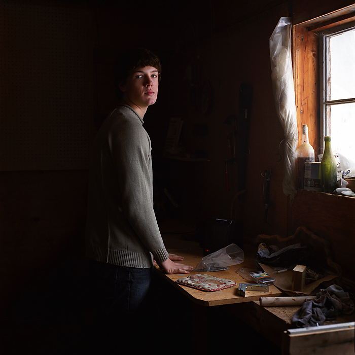 Ryan, from the series The Idea of North