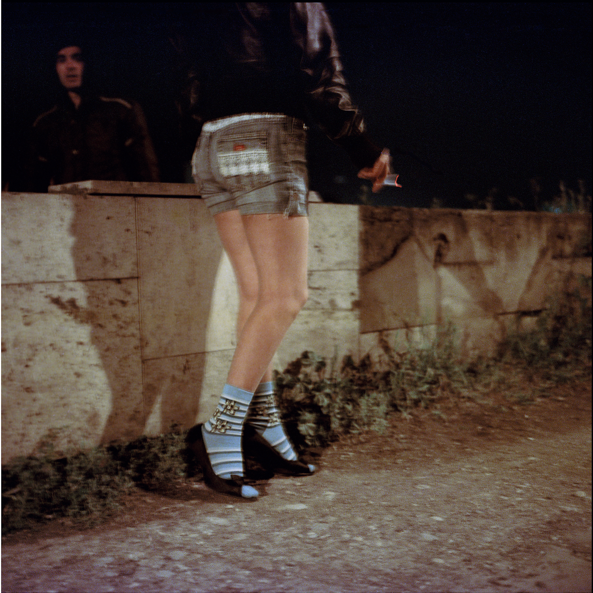 Alija, 20 years old, lives with and works for a pimp whom she says she is in love with, but also wants to leave because he is violent and controlling. Skopje, Macedonia 2010